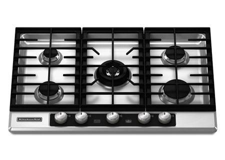 KitchenAid - KFGU706VSS - Gas Cooktops