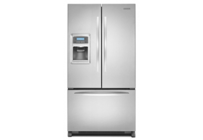 KitchenAid - KFIS25XVMS - Bottom Freezer Refrigerators