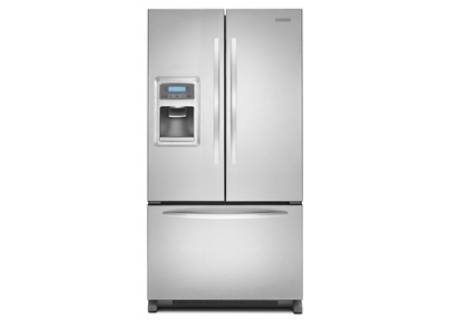 KitchenAid - KFIS25XVMS - Bottom Freezer Refrigerators