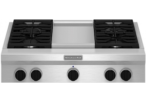 KitchenAid - KGCU463VSS - Gas Cooktops