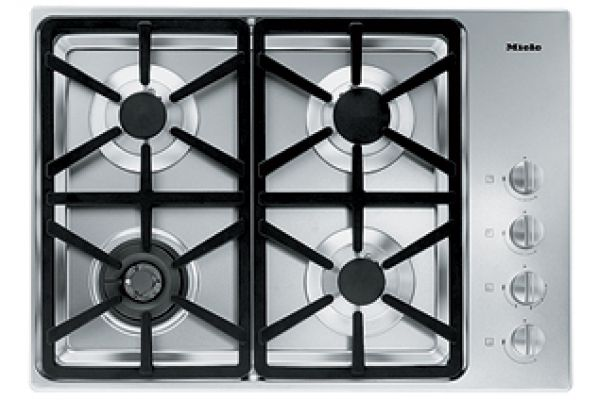 """Large image of Miele Stainless 30"""" Natural Gas Cooktop - 06792680"""