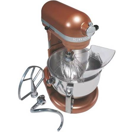 Kitchenaid professional 600 series bowl lift stand mixer copper pearl finish kp26m1xce abt - Copper pearl kitchenaid mixer ...