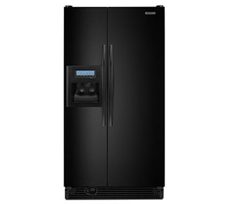 Kitchenaid Architect Series Ii Black Side By Side Counter Depth Refrigerator Ksck23fvbl Abt