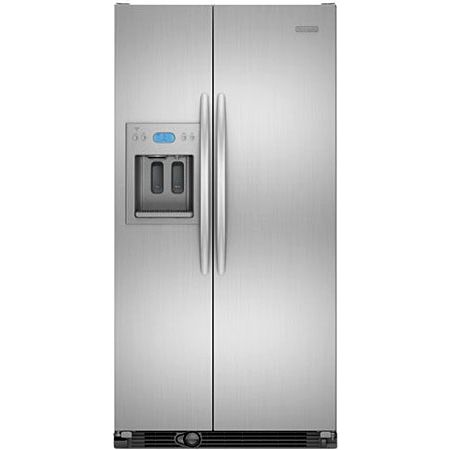 KitchenAid Architect Series II Monochromatic Stainless Steel Side-By-Side  Refrigerator