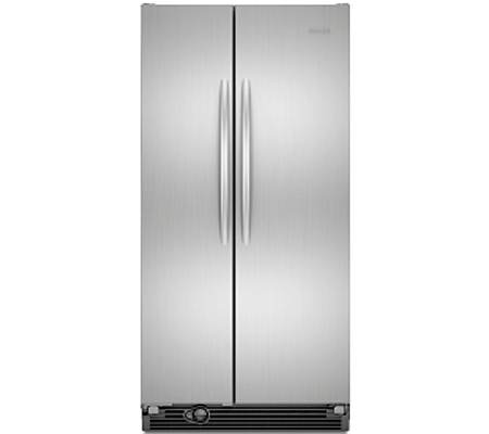 Kitchenaid architect series ii monochromatic stainless side by side counter depth refrigerator ksc - Kitchenaid architect counter depth refrigerator ...