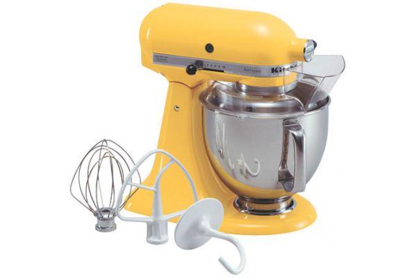 KitchenAid Artisan Series Buttercup Stand Mixer - KSM150PSBF