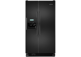 KitchenAid - KSRG25FVBL - Side-by-Side Refrigerators