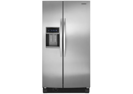 KitchenAid - KSRJ25FXMS - Side-by-Side Refrigerators