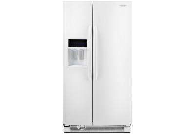KitchenAid - KSRJ25FXWH - Side-by-Side Refrigerators