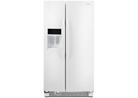 KitchenAid - KSRJ25FXWH - Side-by-Side Refrigerators