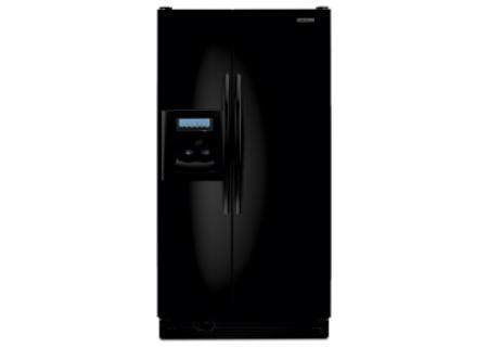 KitchenAid - KSRK25FVBL - Side-by-Side Refrigerators