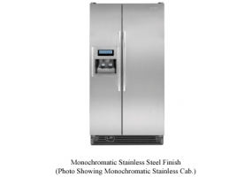 KitchenAid - KSRK25FVMS - Side-by-Side Refrigerators
