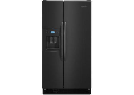 KitchenAid - KSRS25RVBL - Side-by-Side Refrigerators