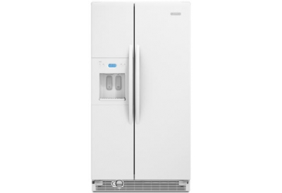 KitchenAid - KSRS25RVWH - Side-by-Side Refrigerators