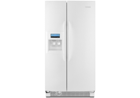 KitchenAid - KSRT25FWWH - Side-by-Side Refrigerators