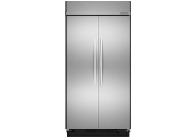 KitchenAid - KSSC48FTS - Built-In Side-By-Side Refrigerators