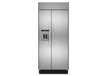 KitchenAid - KSSC36QTS - Built-In Side-by-Side Refrigerators