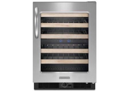 KitchenAid - KUWS24RSSS - Wine Refrigerators and Beverage Centers