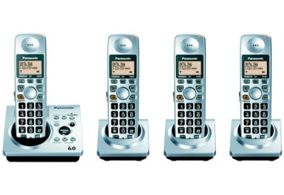 Panasonic - KX-TG1034S - Cordless Phones