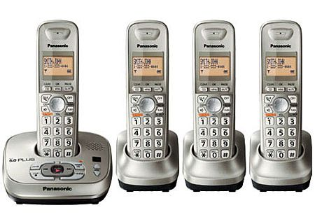 Panasonic - KX-TG4024N - Cordless Phones