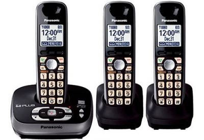Panasonic - KX-TG4033B - Cordless Phones