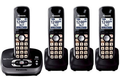 Panasonic - KX-TG4034B - Cordless Phones