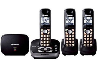Panasonic - KX-TG4053B - Cordless Phones