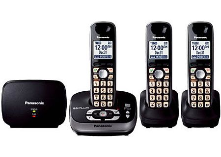 Panasonic - KX-TG4053B - Cordless Phones