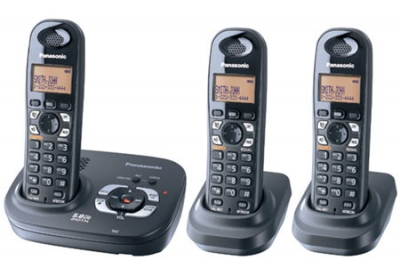Panasonic - KX-TG4323B - Cordless Phones
