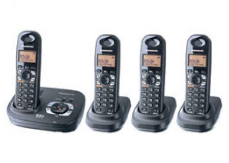 Panasonic - KX-TG4324B - Cordless Phones