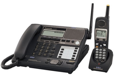 Panasonic - KX-TG4500B - Cordless Phones