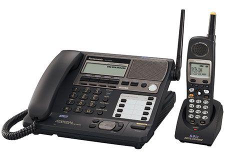 Panasonic - KX-TG4500B - Cordless Phones