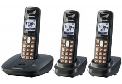 Panasonic - KX-TG6413T - Cordless Phones