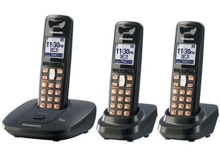 Panasonic - KX-TG6413T - Cordless Phones