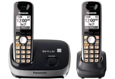 Panasonic - KX-TG6512B - Cordless Phones