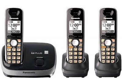 Panasonic - KX-TG6513B - Cordless Phones