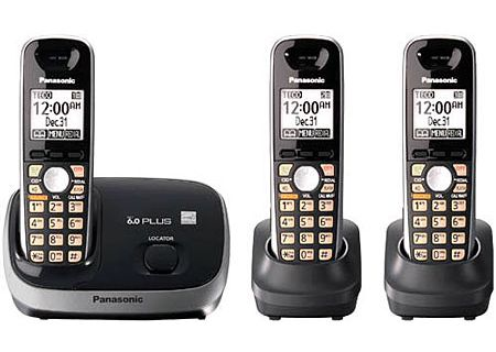 Panasonic - KX-TG6513B - Cordless Phones
