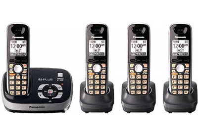 Panasonic - KX-TG6534B - Cordless Phones