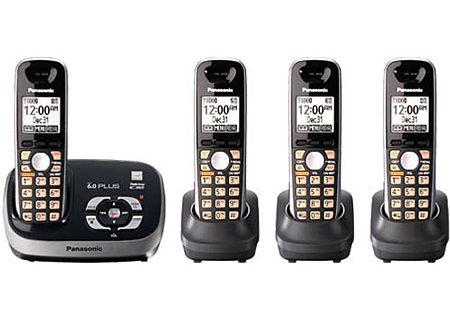 Panasonic - KX-TG6534B - Cordless Phones