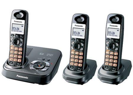 Panasonic - KX-TG9333T - Cordless Phones