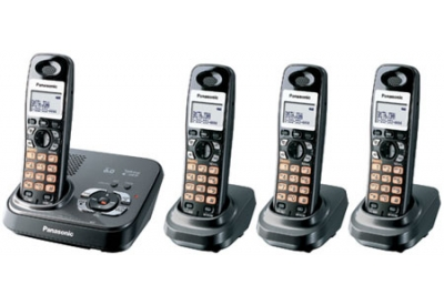 Panasonic - KXT-G9334T - Cordless Phones with Answering Machines