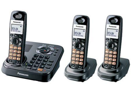 Panasonic - KX-TG9343T - Cordless Phones