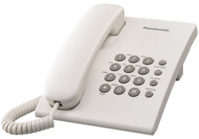 Panasonic - KX-TS500W - Corded Phones