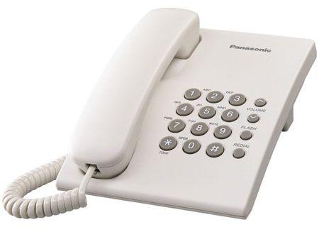 Panasonic - KX-TS500W - Corded Phones