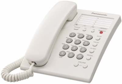 Panasonic - KXTS550W - Corded Phones