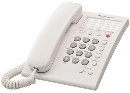 Panasonic - KXTS550W - Corded Phones