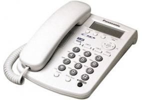 Panasonic - KXTSC11W - Corded Phones