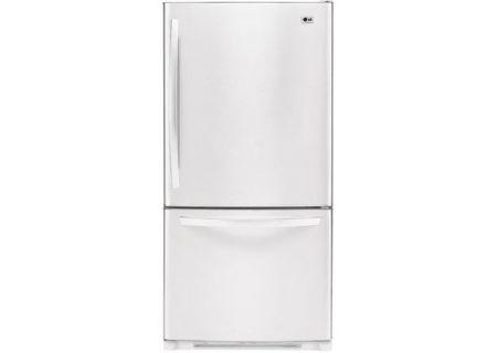 LG - LBC22520SW - Bottom Freezer Refrigerators