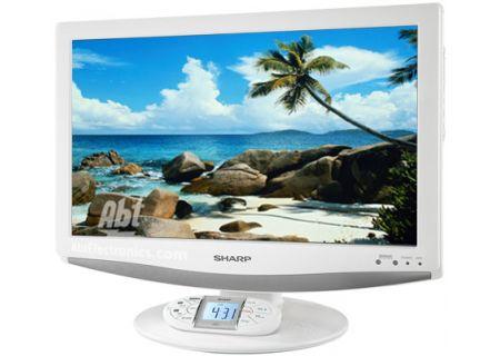 """Sharp 19"""" LCD HDTV In White - LC-19SK24UW"""