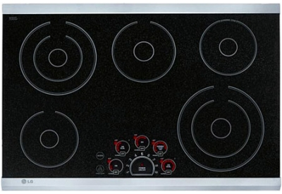 LG - LCE3681ST - Electric Cooktops